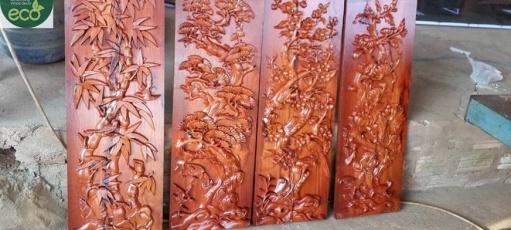 Gia công cắt khắc cnc trên gỗ giá rẻ tại Gia Lai – Làm biển quảng cáo